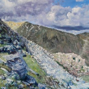 Coppermines Valley, oil on board, prints available